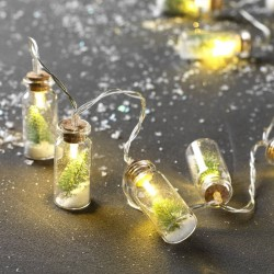 Bottle String Lights For Christmas