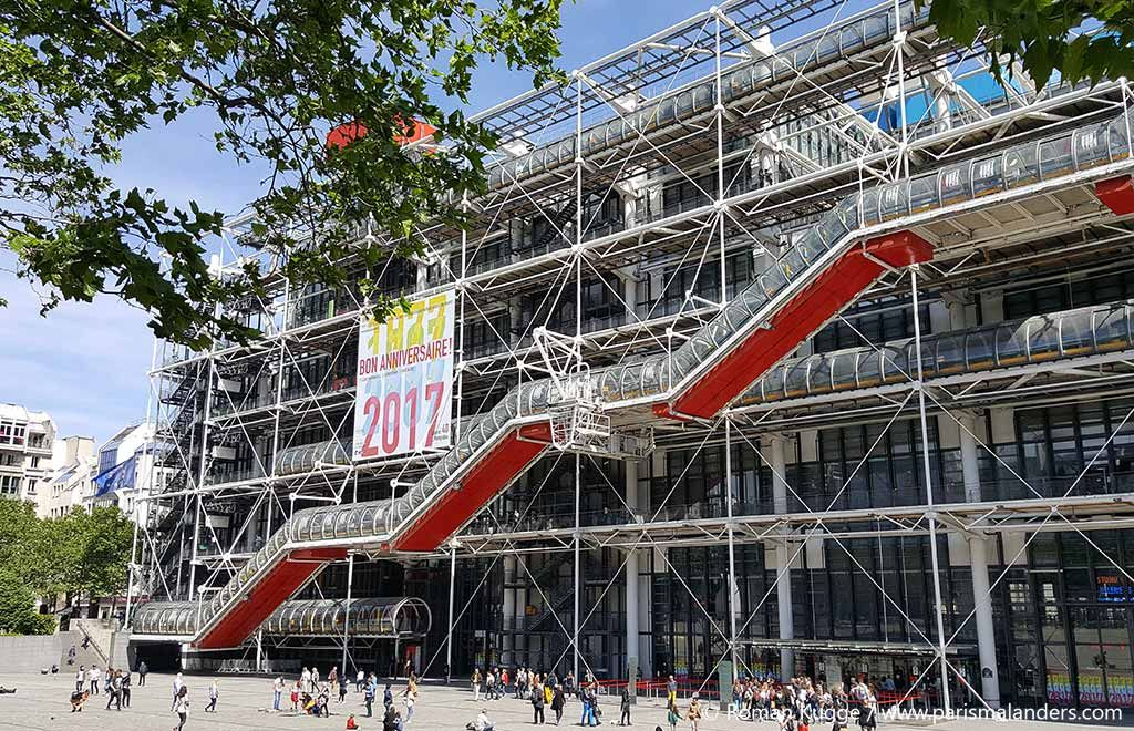 Pompidou Center Entrance Ticket